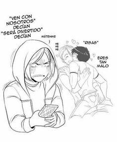 """Quiero estar en tu lugar Yurio :""""v  Oh me voy contigo 7v7"""