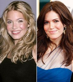 Some of your favorite celebrity brunettes and redheads are undercover blondes. Natural Dark Blonde, Natural Blondes, Blonde Vs Brunette, Blonde Hair, Hair Dye Colors, Hair Color, Mandy Moore Hair, Beautiful Red Hair, Natural Hair Styles