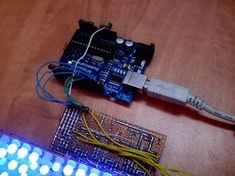 Make a LED Matrix: 6 Steps (with Pictures) Electronics Projects, Cube, Led, How To Make, Pictures, Arduino Projects, Photos, Grimm
