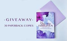  GIVEAWAY  30 Copies Of YOU ARE FORGIVEN!