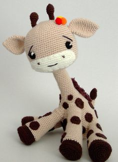 Amigurumi Giraffee Toy - PDF PATTERN