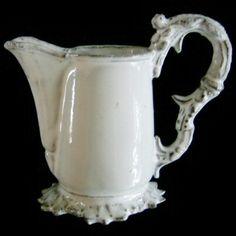 I love astier de villatte paris Ceramic Pottery, Ceramic Art, Earthenware, Stoneware, Vases, White Dishes, Shades Of White, French Decor, Vintage Pottery