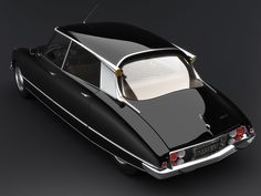 WHY they don't make cars like this now? France. Citroën DS21, 1966