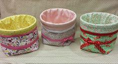 POR AMOR AL ARTE: TUTORIAL CESTAS DE TELA Home Crafts, Diy Crafts, Origami, Couture Sewing, Sewing Tutorials, Fabric Crafts, Hand Sewing, Kids Room, Quilts