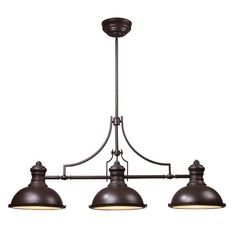 Nice Found It At Joss U0026 Main   Christian 3 Light Pendant In Oil Rubbed Bronze