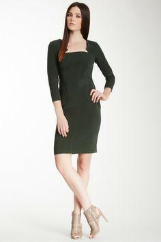 3/4 Length Sleeve Corset Dress by Rachel roy