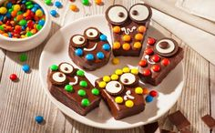 Monster Brownies  Discover our ghoulishly good Monster Brownies recipe, a fantastically fun treat for your little monsters.  FULL RECIPES: http://bit.ly/2uHlTZ6