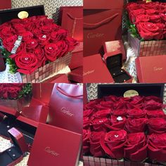 Valentine's Day Surprise, Cartier Jewelry Collection, Saphirs Legers de Cartier, Cartier Studs, Tank Francais, Amulette de Cartier, Cartier Tennis Bracelet