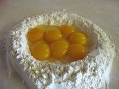 7-yolk pasta by Thomas Keller. Yeah!