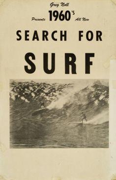 Vintage surf poster