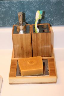 For Him and My Family: Toilet Tree Product Review Bamboo Bathroom Caddy