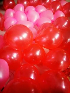 Red balloon is stand for fortune, Happy as well as love.