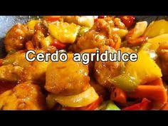 CERDO AGRIDULCE CHINO   Recetas de cocina faciles y rapidas - Comidas caseras ricas