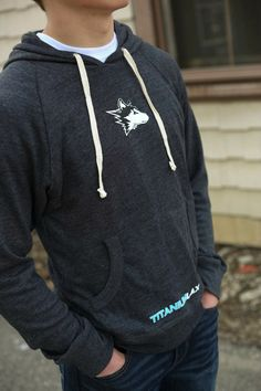 Titanium Lacrosse Threads - Alternative Softwash Pullover in Dark gray with Husky head logo, $39.95 (http://www.titaniumthreads.com/alternative-softwash-pullover/)