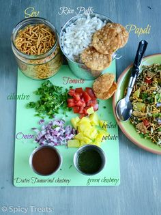 Spicy Treats: Bhel Puri - Easy & Healthy Chaat Recipe!