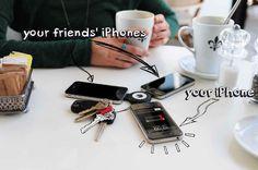 ChargeBite: deel de accu van je iPhone met anderen