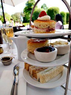 Tea at Kensington Palace. Click through for more.