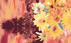 Sunset Flower - Lunelli Textil   www.lunelli.com.br