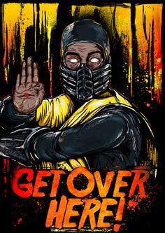 Scorpion - Mortal Kombat - Gleb Sinyutkin