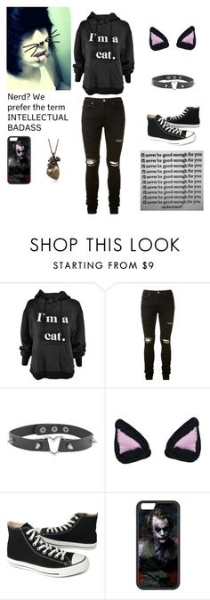 """Much better- Danny"" by killjoy-717 ❤ liked on Polyvore featuring AMIRI, Converse, men's fashion and menswear"