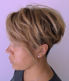 40 tousled pixie with undercut