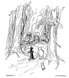 deciduous forest animals coloring pages - photo#42
