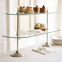 Tiered Serving Pieces for your Buffet
