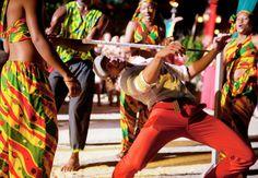 Sandals Royal Bahamian: A junkanoo band brings revelry after sunset. #bahamas #nassau