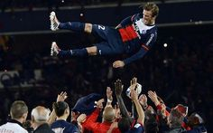 David Beckham, PSGs captain for his final match, bows out as a winner - Telegraph