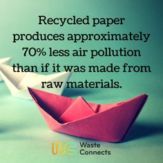 This is one of the reason why we need to recycle.  #wasteconnects #recycle #recycling #recycled #reuse #repurpose #waste #wastemanagement
