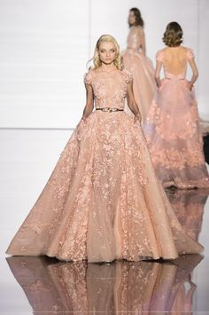Zuhair Murad at Couture Spring 2015.