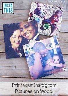 Print your Instagram photos on wood with InstaThis - www.anightowlblog.com