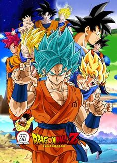 603e534d270 Poster Dragon Ball Z 27 Aniversario by Frost-Z