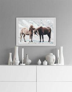 Horse Print, Scandinavian Print, Nature Photography, Nordic Print, Scandi Wall Art, Animal Prints, Nordic Design House, Scandi Home Decor #homedecorideas #homedecoronabudget #homedecordiy #homedecorideasmodern #homeoffice #homedecor #homeideas #wallart #walldecor #wallartdiy  #art #print #digital #scandinavianprint #horseprint #horseart #natureprints #naturephotography #nordicprint