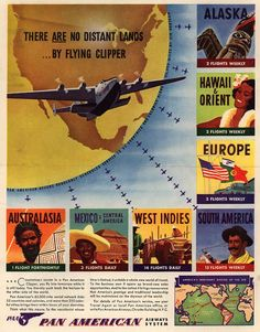 There Are No Distant Lands... By Flying Clipper . From Duke Digital Collections. Collection: Ad*Access