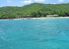 """Looking back towards Cane Bay, St. Croix USVI. I love scuba diving at this beach. This is where the famous """"Wall"""" is located. Great dive spot."""