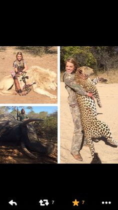 Sign petitions on Twitter to stop Kendall Jones! Spoiled cheerleader killing majestic creatures for fame.