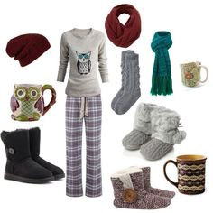 Cute christmas outfit for watching movies