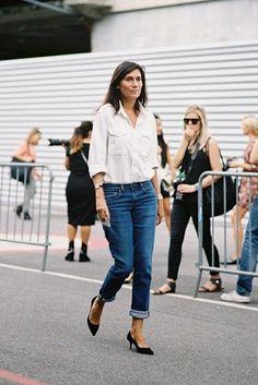 Paris Fashion Week SS 2014....Emmanuelle