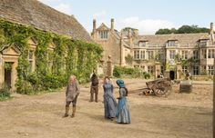 Far from the Madding Crowd filmed at Mapperton, Dorset, England (2015)