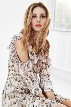 Olivia Palermo by Gabor Jurina for FASHION Magazine March 2016 - Preen by Thornton Bregazzi dress