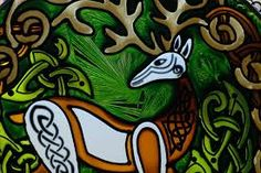 Image result for stained glass fox design