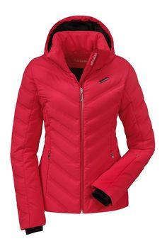 Schoffel Meribel 2014 Womens Ski Jacket Red