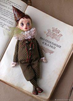 Buy OOAK Art doll sad clown Louis on Livemaster online shop