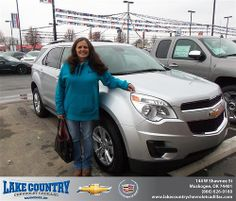 #HappyAnniversary to Randy Martin on your 2013 #Chevrolet #Equinox from Matthew Madewell  at Lake Country Chevrolet Cadillac!