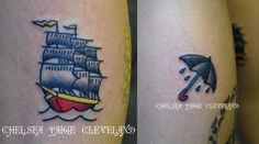 Want a tattoo or piercing in Vegas? Call or text me at 702-637-6726 #TattooArtist #Tattooist #TattooShop #TattooParlor #TattooStudio #LasVegas #Ship #ShipTattoo #Umbrella #UmbrellaTattoo