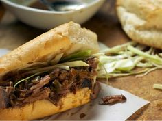 Roast Beef Po' Boys from CookingChannelTV.com