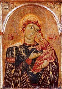 ANONIMO ITALIANO VIRGEN CON EL NIÑO 1260