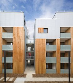 Colboc Franzen's Parisian Social Housing Matches The Proportions Of Its 1930s Neighbours - http://www.homedecorlife.com/colboc-franzens-parisian-social-housing-matches-the-proportions-of-its-1930s-neighbours.html
