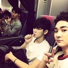 Aron, Ren, Minhyun, JR NU'EST